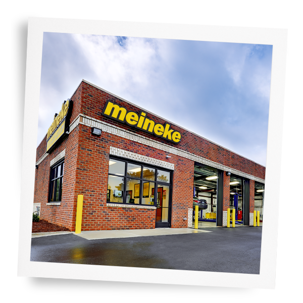 Exterior shot of Meineke car care center